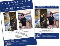 Affiche et Invitation pour Espace-Bougnol