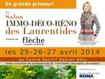 Affiche pour le salon Immo-Déco-Réno