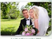 Carton pour Célébrons notre mariage