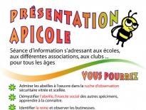 Dépliant pour Marc Beaulieu apiculteur