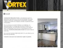 Site Internet pour Vortex rénovation construction