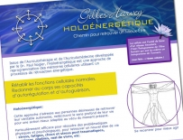 Gilles Harvey, holoénergétique